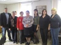 Фото с коллегами на память